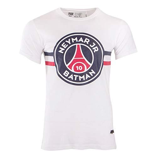 PSG Neymar Jr Batman T-Shirt Blanc Homme x Justice League