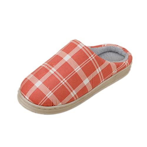 Zapatillas para Mujeres Y Hombres, Zapatos De Interior CáLidos De Invierno, Suaves Y CóModas, Zapatillas De Casa De Felpa, Chanclas