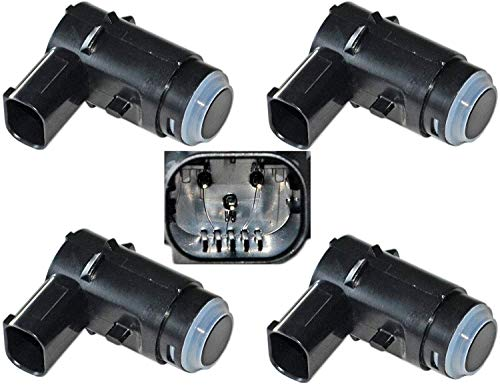 Set Of 4 Parking Assist Sensor for Fo-rd F150 Pickup Lincoln LT 2009-2014, 9L3Z-15K859-C, 9L3Z-15K859-D