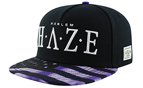 Cayler And Sons - Casquette Snapback Homme Harlem Haze Cap - Black/Purple/White