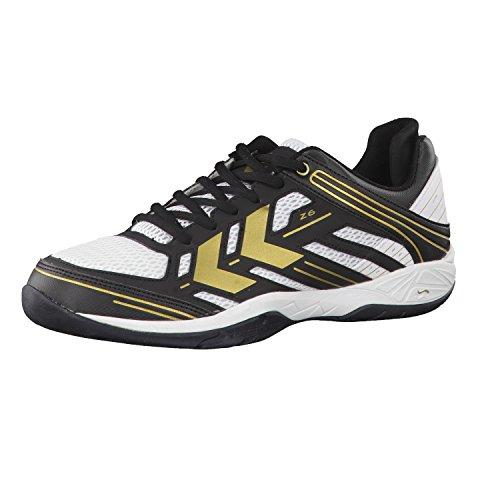 hummel 60-249 Unisex Erwachsene Fitness Schuhe, Herren, Blanc - Blanc, 37,5