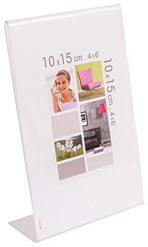 IMAGINE 07010900cristàl Joe Steg Bilderrahmen zum Aufstellen, 10 x 15