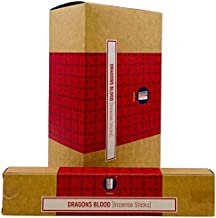 Satya Dragon's Blood Incense Sticks - 180 Grams - Premium Indian Incense