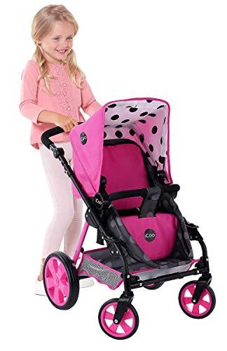 iCoo Carriola para muñecas Carreola para Muñeca Doll Stroller Carrito para Muñeca