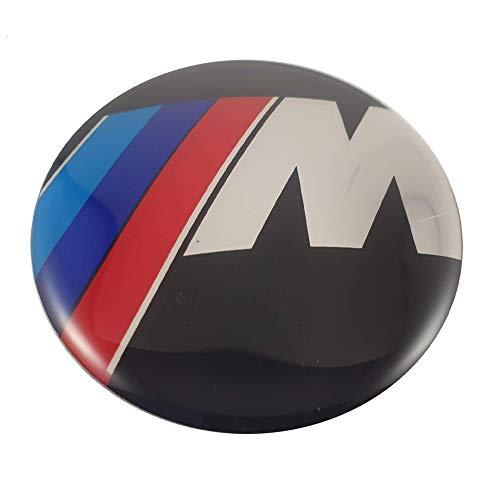 LUDOSTREET ref0003 Logo Emblema Insignia Anagrama Llanta Rueda Auto Coche Compatible con BMW 68mm 5 Pins (Serie M)