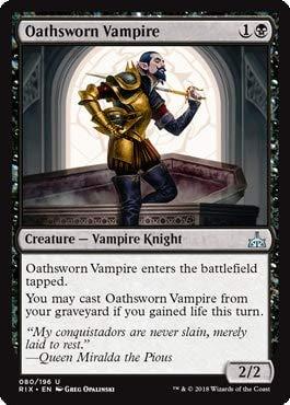 Oathsworn Vampire - Rivals of Ixalan