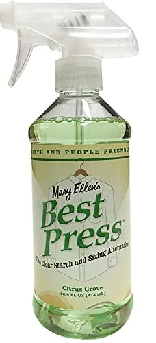 Mary Ellen Products Mary Ellen s Best Press Clear amido Alternative-Citrus Grove 16 oz, Altri, Multicolore