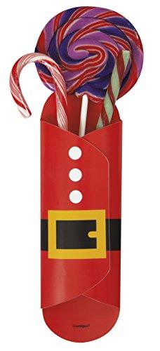 Babbo Natale Sweet titolari, confezione da 8