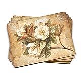 Pimpernel Sugar Magnolia Collection Placemats - Set of 4