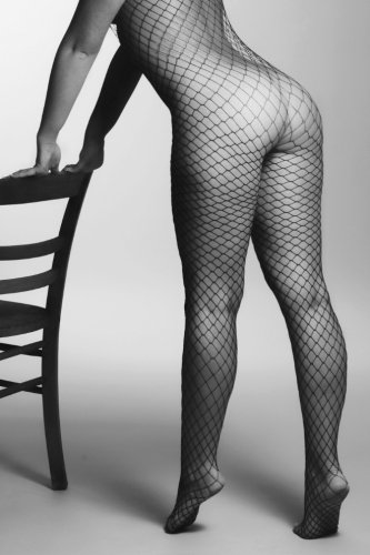 Fishnet Bodystocking Journal: Blank Note Book Diary ~ 6 x 9 Size ~ 150 Gray Lined Pages ~ COLLEGE Ruled!