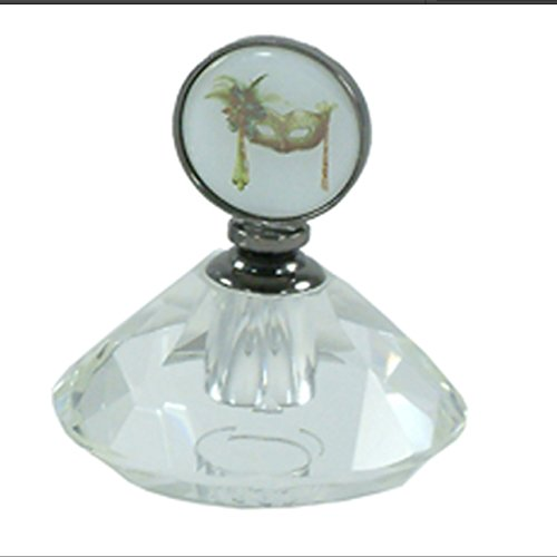 Masquerade solide en verre Bouteille de parfum par Leonardo