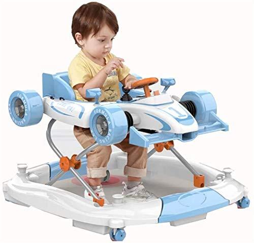 Zuoao Auto Höhenverstellung Form faltbar Rollator Rollator kann bis zu 20 kg, für 6-18 Monate aufnehmen,Blue