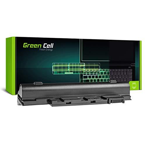 Green Cell Batería para Acer Aspire One D255-2dkk D255-2DQkk D255-A01B/B D255-A01B/K D255-A01B/W D255-N55DQ D255E D256 D257 D257E D260 D260-13042 Portátil (4400mAh 11.1V Negro)