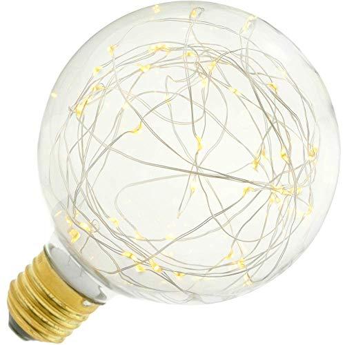 BeMatik - Fantasie LED-lamp G125 1,4 W warm licht 2200 K