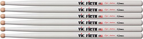 Vic Firth Corpsmaster Marching Drum Stick 3-Pack SRH Ralph Hardimon Wood Tip