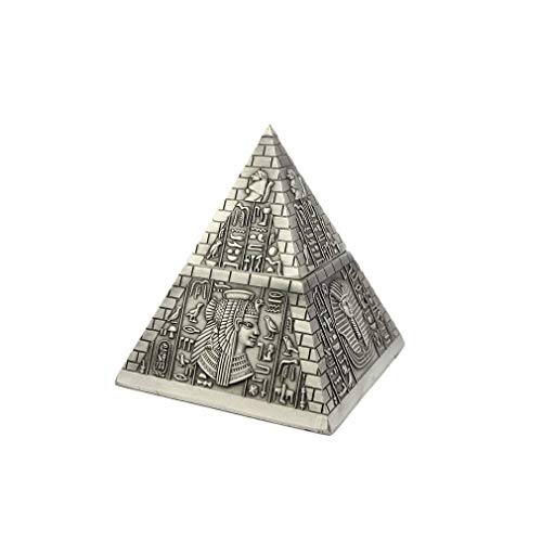 lachineuse Pirámide egipcia – Caja Decorativa, Pyramide Acier