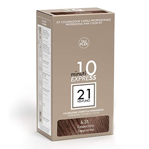 21 Ventuno Professionelles Farbkit 6.31 Cappuccino Haarfarbe