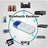 BOKA® USB Wireless Music Audio Bluetooth Receiver,Dongle 4.0 USB Adapter Hands-Free Dongle Kit