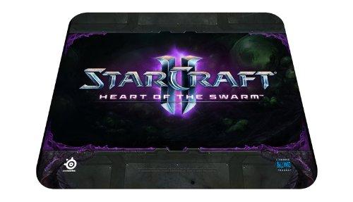 SteelSeries QcK StarCraft II Hots Logo Edition Gaming Mauspad