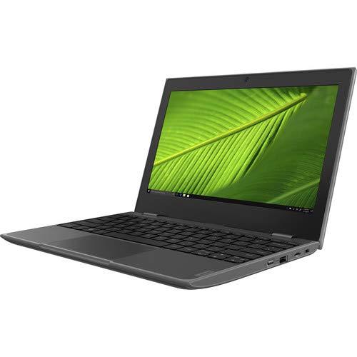 Lenovo 100e 2nd Gen Notebook 11.6' //1366 x 768 Pixels / Intel Celeron N4000 / 4GB LPDDR4-SDRAM / 64GB eMMC / Windos 10 Pro / Black