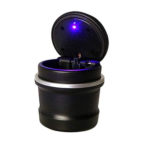 Cendrier Spécial Pour Voiture Avec Lampe LED Cendrier Léger Pour Voiture