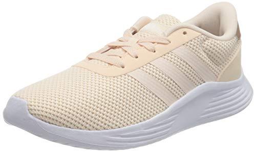 adidas Damen LITE RACER 2.0 Laufschuh, Pink Tint Ftwr White Copper Met, 40 EU