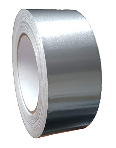 50 Meter Aluminium Klebeband 50mm breit (1 Rolle)