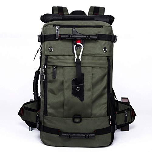 SZBTF 50L Backpack Waterproof Outdoor Sport Trekking Camping Pack Mountaineering Climbing...