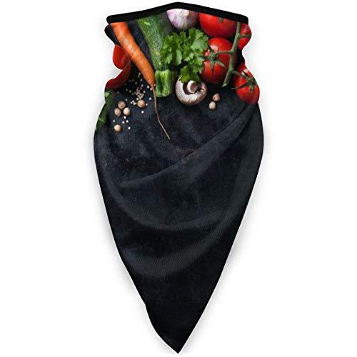 ZXYAIAN Chili Tomaten Pilz Outdoor Gesicht Mund Maske Winddicht Sport Maske Skimaske Shield Schal Bandana Herren Damen