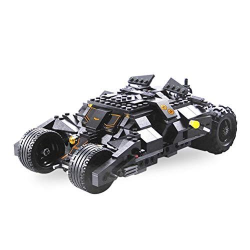 QXF-D Rennwagen-Bausteine Modell DIY Superheld Bat Auto Gebäude Ziegel Bildung Hobby Kinder-Bildungs-Geschenk for Erwachsene Und Kinder für Erwachsene Jugendliche und Kinder