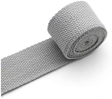 357-2 5 Yards 1.0cm1.5cm2.0cm2.5cm Width Webbing Cotton Polyester Webbing Belts Purse Bag Straps Handles Leash key fob webbing