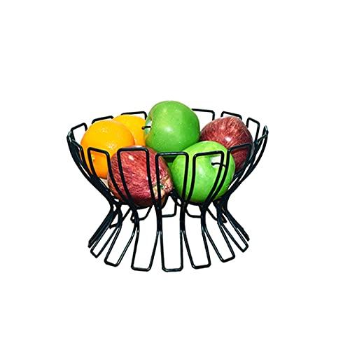 XZBXGZWY Fruit Holder Grape Tomatoes Banana Holder Stand Metal Fruit Basket Storage Basket Fruit Tray Metal Fruit Basket, 25 * 16cm/9.8×6.2Inch