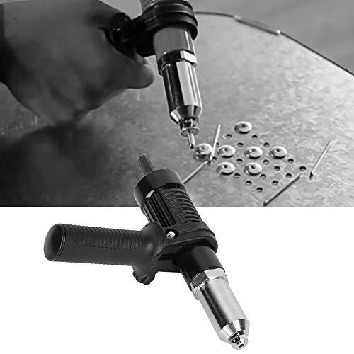 【 】 Inserto adaptador de pistola de remaches que ahorra tiempo, pistola...