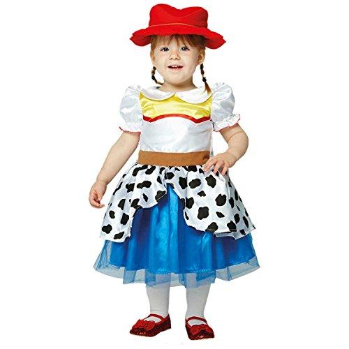 amscan- Toy Story Disfraz de Jessie Premium para niños, Color Blanco, 68-80 cm (DCJES06)
