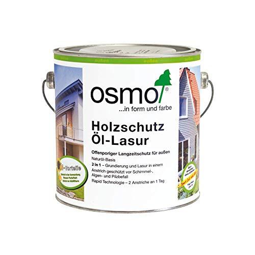 OSMO Holzschutz Öl-Lasur 2,5 Liter Basaltgrau 903