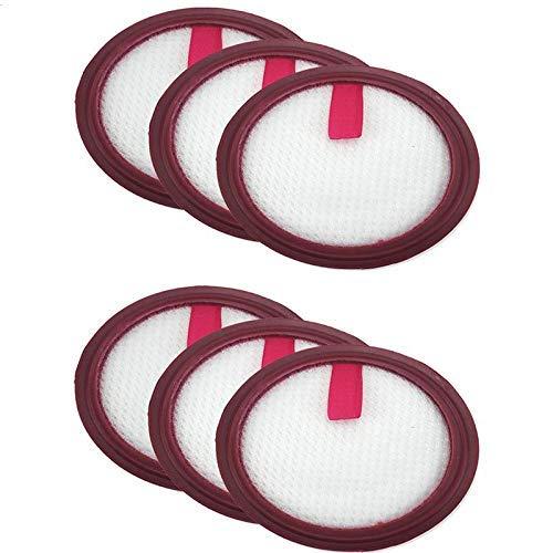 YBINGA Filtro HEPA lavable Kit de herramientas de limpieza para cachorro T10 Puppyoo T10 Pro Partes de aspirador Partes de aspirador