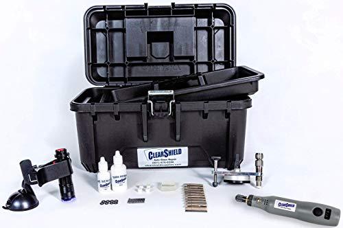 Clearshield Windshield Repair Kit - Window Rock Chip Repair Kit - Cracked Windshield Repair Kit - Auto Glass Repair Kit for 200+ Repairs