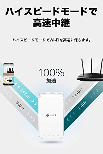 【セット買い】TP-LinkWiFi無線LANルーター11acMU-MIMOビームフォーミング全ポートギガビットデュアルバンドAC1200867+300MbpsArcherC6&TP-LinkWiFi無線LAN中継器デュアルバンドOneMesh対応3年保証AC1200規格メッシュWI-Fi中継器ホワイトRE300