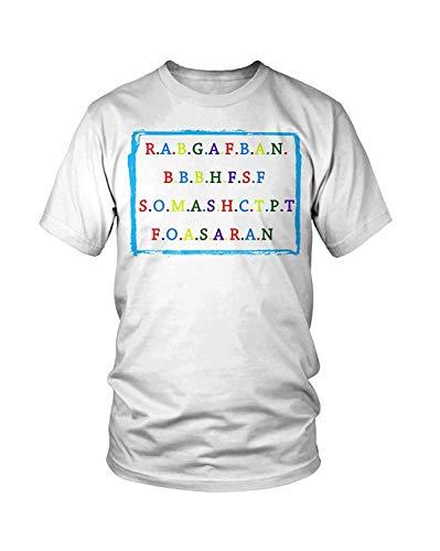 Leet Group R.a.b.g.a.f.b.a.n.b.b.b.h.f.s.f S.o.m.a.s.h.c.t.p.t T-Shirt