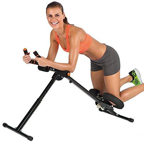 VITALmaxx 00161 Abmaxx 5 Trainingsgerät Professioneller Bauchtrainer & Fitnessgerät