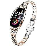 Delicado reloj inteligente para mujer - rastreador de fitness con...