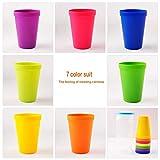 Zoom IMG-2 linian bicchieri plastica colorati 8