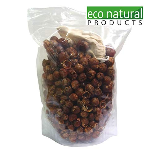 Eco-NaturalProducts Washing Soap Nuts 1Kg Use For Laundry, Dishwasher, Garden.