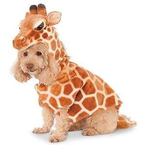 Rubie's Costume Company Giraffe Hoodie for Pet