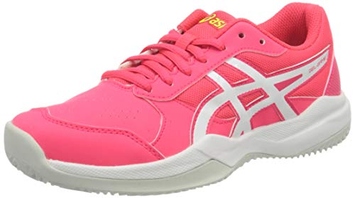 Asics Gel-Game 7 Clay/OC GS 1044a010-705, Zapatillas de Tenis Unisex Niños, Rose/Blanc, 35.5 EU