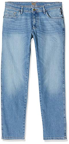 Camel Active Herren 5-Pocket Madison Straight Jeans, Blau (Light Blue Tint 41), W35/L32 (Herstellergröße: 35/32)