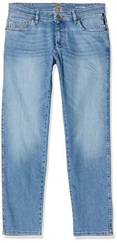 Camel Active Herren 5-Pocket Madison Straight Jeans, Blau (Light Blue Tint 41), W36/L34 (Herstellergröße: 36/34)