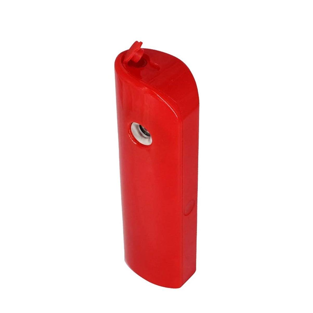 選択逃す懇願するZXF 新しいポータブルハンドヘルドabs材料水和機器美容機器顔の加湿スプレー機器ナノマイナスイオン水和機器充電宝物赤 滑らかである