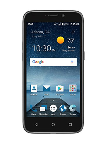 AT&T Prepaid ZTE Maven 3 4G LTE Smartphone Cell Phone. Unlimited Calling, Texting, Data. 5'...