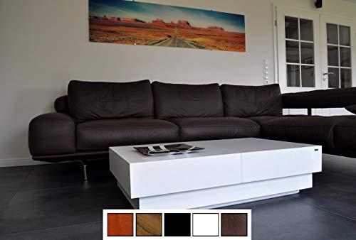 Carl Svensson Design Couchtisch S-70 Schublade Stauraum erhältlich (Weiß)